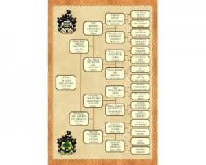 El Árbol de antepasados representa el origen de tu familia