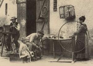 Oficios Antiguos - Afilador