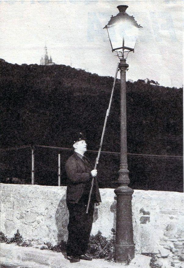 Farolero - Oficios antiguos
