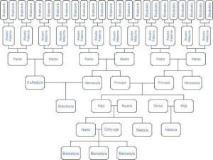 Estudios genealógicos mixtos