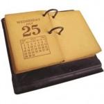 calendario antiguo