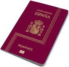 Pasaporte y nacionalidad española