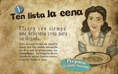 Machismo - La mujer en la cocina