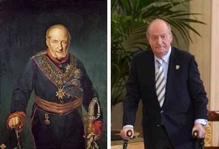 Carlos III y Juan Carlos I