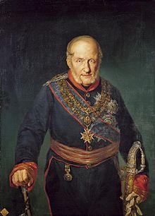 Francisco I de las Dos Sicilias y su parecido con  Juan Carlos I de España