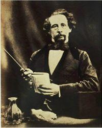 Charles Dickens y su parecido con su descendiente Gerald-Charles Dickens