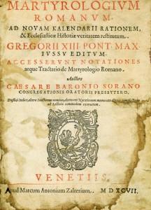Los nombres más raros - Martirologio Romano