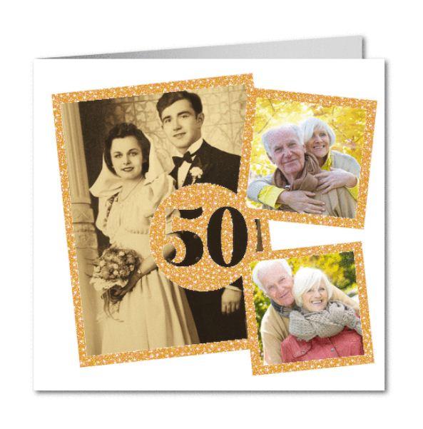 invitaciones 50 aniversario de boda