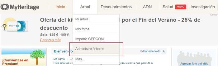 Como exportar Gedcom