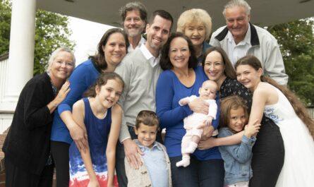 familia con varias generaciones