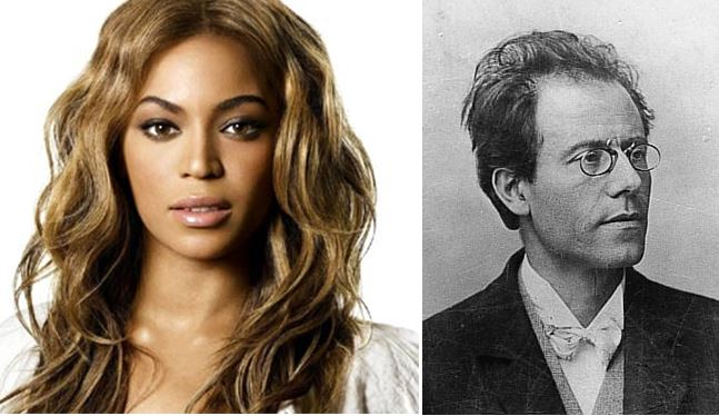 Beyoncé y su parentesco con Gustav Mahler