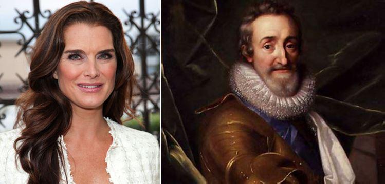 Brooke Shields desciende de Enrique IV de Francia y III de Navarra