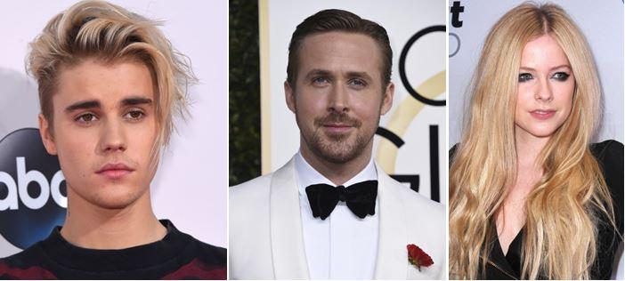 Justin Bieber, y suparentesco familiar con Ryan Gosling y Avril Lavigne