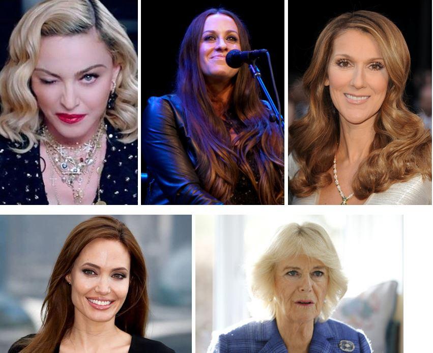 Madonna y sus parientes famosas