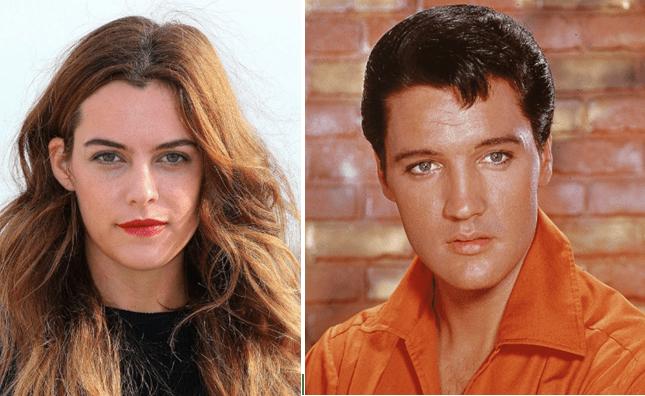 Riley Keough y Elvis Presley