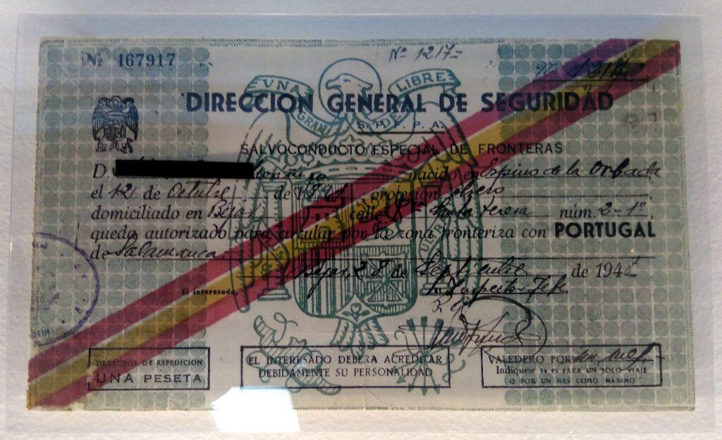Salvoconducto 1948