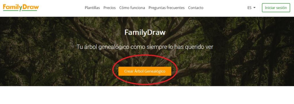 Cómo crear una cuenta en FamilyDraw